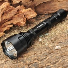 UltraFire WF-500 CREE Q5 WC 500LM 3-Mode 3-LED White Light Flashlight (2 x 18650)