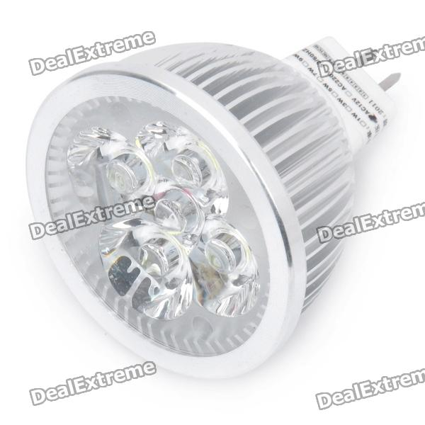 цены на GX5.3 3W 6000K 200-Lumen 4-LED White Light Bulb (DC 12V) в интернет-магазинах