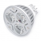 GU5.3 3W 7000K 280-Lumen 3-LED White Light Bulb (AC 12V)