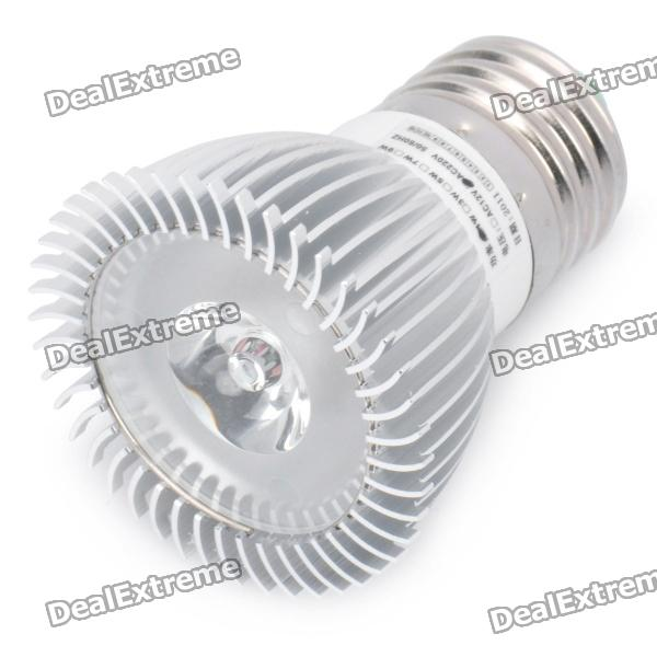 E27 1W 7000K 110-Lumen White LED Light Bulb (AC 89~265V)