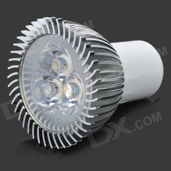 G5.3 3W 280LM 3200K Warm White Light 3-LED Cup Bulb (AC 89~265V)
