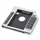 "Designer's Universal 2.5"" SATA to IDE HDD Caddy for 12.7mm Optical Drive"