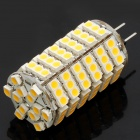 G4 7W 3500K 550-Lumen 120-3528 SMD LED Warm White Light Bulb (DC 12V)