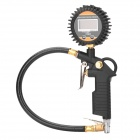 1.5&quot; LCD Digital Tire Inflating Gun - Black (2 x AAA)