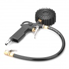 "1.5"" LCD Digital Tire Inflating Gun - Black (2 x AAA)"