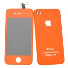 Replacement Touch Screen + LCD Screen Modules Assembly Kits for iPhone 4 - Orange