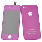 Replacement Touch Screen + LCD Screen Modules Assembly Kits for iPhone 4 - Purple