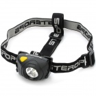 Sterops SHF-2S XPE R5 160-Lumen 2-Mode White LED Headlamp - Black (3 x AAA)