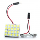 T10 / BA9S 0.18Wx20 White Light 20-SMD 5050 LED Auto Leseleuchte (DC 12V)