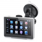 "4.3"" Touch Screen WinCE 6.0 MTK3351 GPS Navigator with FM / 4GB TF Card w/ Canada Map - Black"
