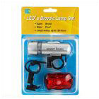 Bicycle Front + Rear Led Light Kit
