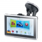 "5.0"" Touch Screen WinCE 6.0 SIF 5 GPS Navigator with FM / TF / Internal 4GB USA Map - Black"