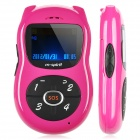 "M0-8 GSM Kid's Cell Phone w/ 1.4"" LCD, Dual-Band and SOS - Deep Pink"