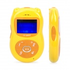 "M0-8 GSM Kid's Cell Phone w/ 1.4"" LCD, Dual-Band and SOS - Yellow"
