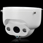 1/3 SONY CCD Surveillance Security Manual Zoom Camera w/ 2-LED IR Night Vision - White (NTSC)