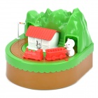 Cute Stealing Money Mice Coin Bank with Sound Effects - Green + Red + White (2 x AA)
