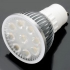 GU10 4W 400LM 3300K 9x5050 SMD LED Warm White Light Bulb (85~265V)