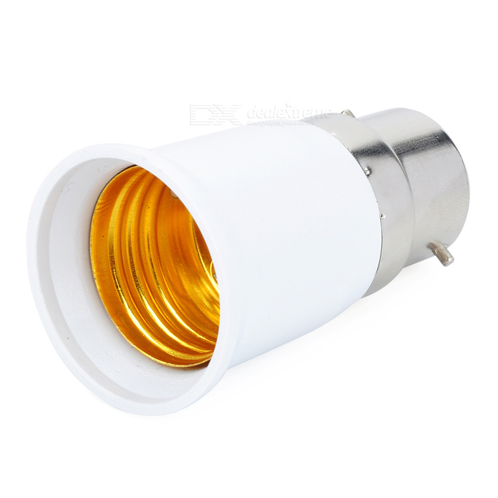 E27 Female to B22 Male Light Lamp Bulb Adapter Converter