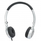 AKG K430 Folding Headset w / Volume Control - Schwarz (3,5 mm-Stecker / 80cm-Kabel)