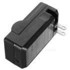 Camera Battery Charger Cradle for Panasonic D07S/D08S/D16S/D28S/S602E/D54S/D120/220/320 - Black