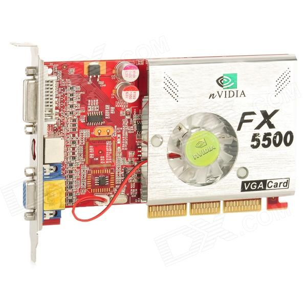 nVIDIA GeForce FX 5500 AGP Graphic Card
