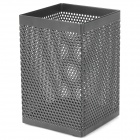 Iron Mesh Style Pen Stand Holder - Black