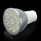 GU10 400LM 5500-6000K 9-SMD White Light Bulb (4W/85-265V)