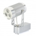 3W 6500K 270-Lumen 3-LED White Light Track Rail Fixture Spot Lamp (AC 85~265V)