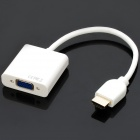 1080P HDMI Male to VGA Female Adapter Cable (10cm)
