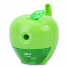Fashion Cute Apple Style Manual Desktop Pencil Sharpener - Green