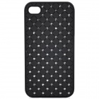 Fashion Protective Back Case for Iphone 4 / 4S - Black