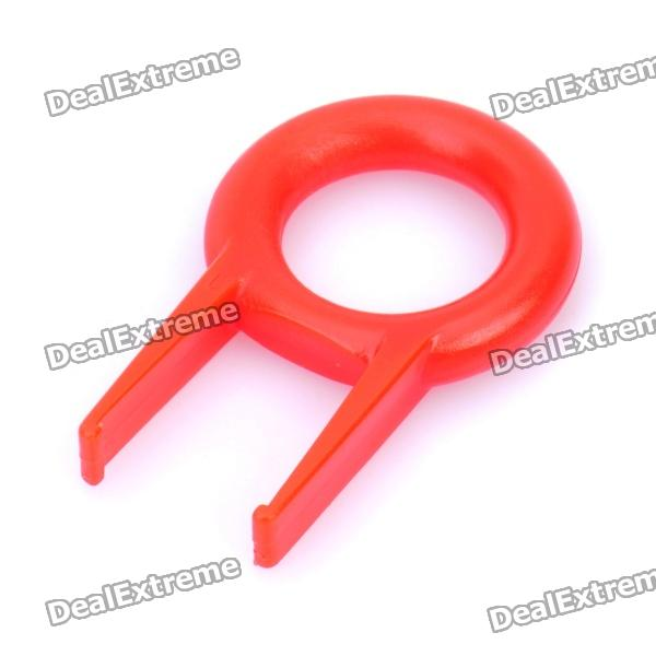 JM-208 Ring Type Computer Keyboard Key-top Puller - Red