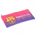 Creative Barcelona Football Team Logo Pattern Canvas Purse Wallet