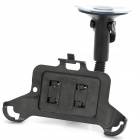 Car Swivel Suction Cup Mount Holder w/ Car Charger for Samsung Galaxy Nexus i9250