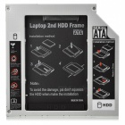 "Universal 2.5"" SATA IDE HDD Caddy 9,5 mm optinen asema"