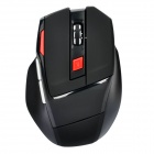 2.4GHz Wireless Optical Mouse with USB Receiver - Black (1 x AA)