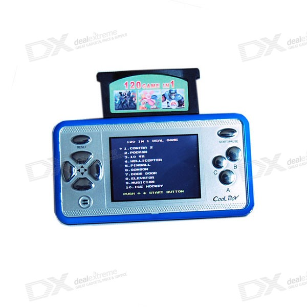 "Cool Boy 2.4"" Color LCD Portable Game Console with TV Out"