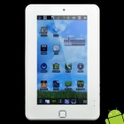 "7 ""resistiven Touch Screen Tablet Android 2.2 W / Kamera / WiFi / Phone Call - Weiß (VIA 8650 / 4GB)"