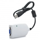 USB 2.0 Video Card Adapter To VGA Graphics Display