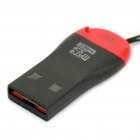 Menor SDHC MicroSD / TransFlash TF USB do mundo Card Reader 2.0 (8GB Max)