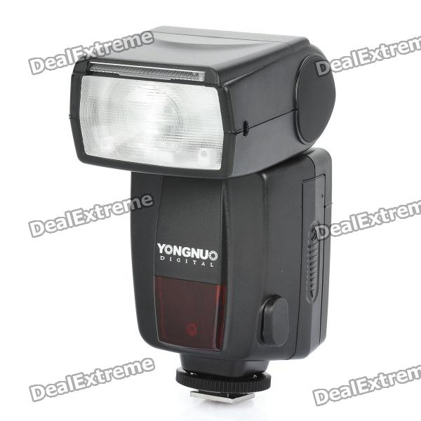 "YN468-II 1.6"" LCD Flash Speedlite Speedlight for Nikon D300 + More (4 x AA)"