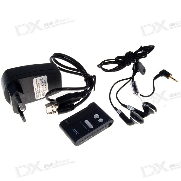 T15S Clip-On Bluetooth Headset Stereo Receiver + Handsfree ...