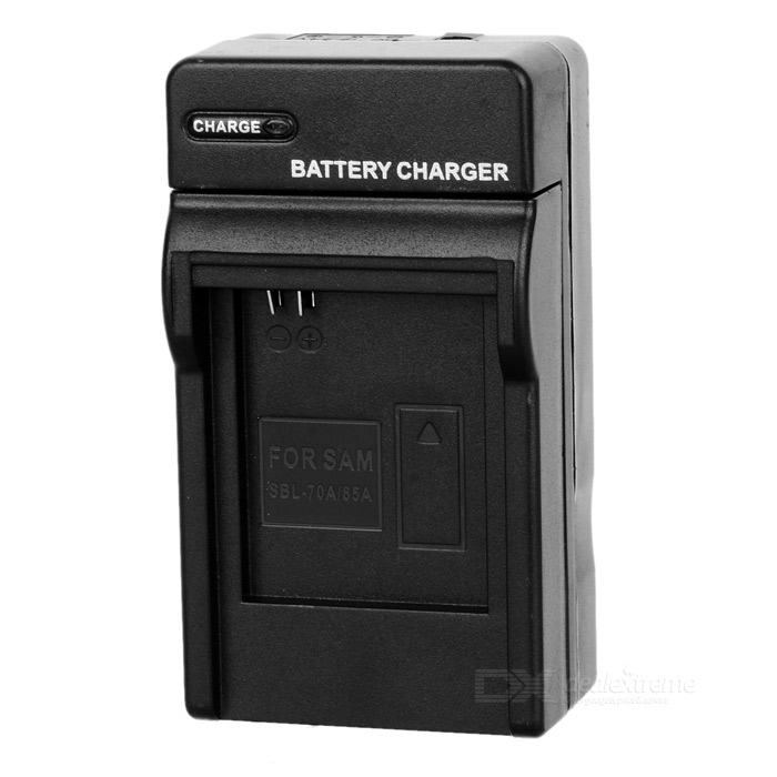 Camera Battery Charger Cradle for Samsung BP-70A (AC 100~240V / 2-Flat-Pin Plug) new original mr je 70a 3ph ac 220v 3 8a 750w ac servo drive