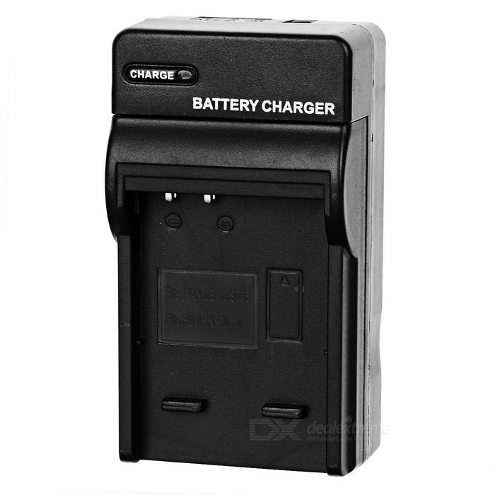 Camera Battery Charger Cradle for Fuji NP-70 BH125C / DB60 / DB70 (AC 100~240V / 2-Flat-Pin Plug)