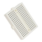 Mini 170 Tie Points Prototype Solderless Breadboard - White