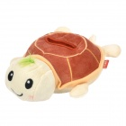 Cute Little Turtle Style Cell Phone Holder Stand - Coffee + Off White