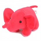 Cute Small Elephant Plush Doll Toy - Red