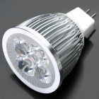 GU5.3 5W 3500K 450-Lumen 5-LED Warm White Light Bulb (DC 12V)