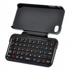 Mini Bluetooth V2.0 Keyboard with Rotatable Plastic Case Holder for iPhone 4/4S