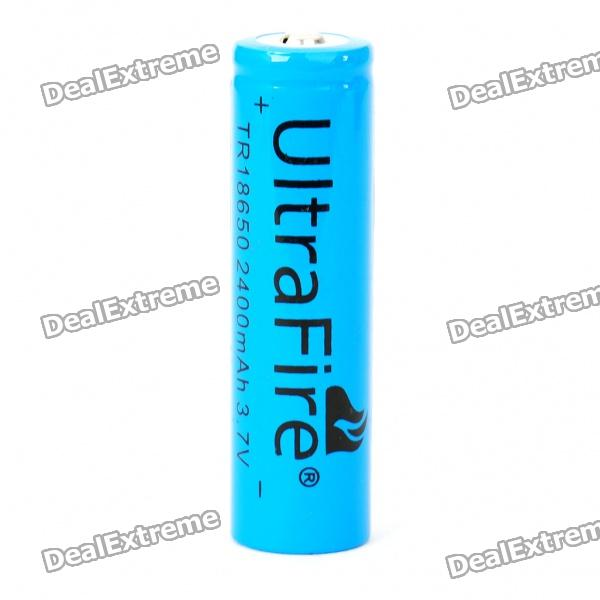 Ultrafire 3.7V 18650 2400mAh Battery ultrafire 2400mah 3 7v protected 18650 cell